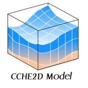 آموزش کاربردی مدلسازی جریان ماندگار در مدل دوبعدی CCHE2D